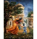 Mother Yasoda Chases Baby Krishna