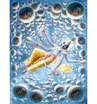Maha-Vishnu With the Universes Eminating From His Body
