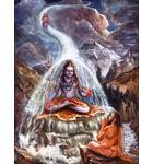 Lord Shiva Takes the Ganges River on His Head