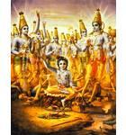 Krishna Expands Himself as Cowherd Boys