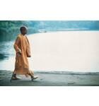 Srila Prabhupada Walking by the Water