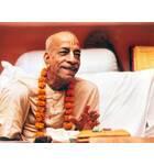Srila Prabhupada at Mayapur Behind Desk