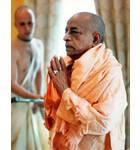 Srila Prabhupada Greeting the Deities