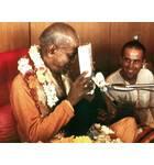 Srila Prabhupada With Book