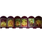 Folding Guru Parampara Display [with Lord Nrsimhadeva]