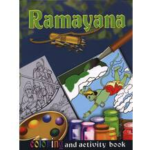 Ramayana Coloring and Activity Book