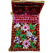 """Bed for Deities to Take Rest -- Metal and Jewels -- 2.5\"""""""