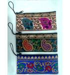 96037ac49d5e Zip Bag With Finger Thread in Traditional Indian Designs (3.5