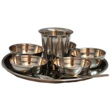 """Deity Offering Plates Small Size (7.5\"""" Stainless Steel)"""